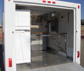 Stabilization Trailer Exam Table