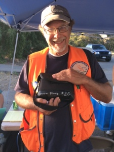 Richard Grise and his favorite field binoculars