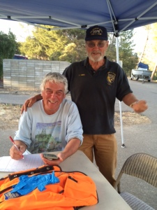 Curt Clumpner helps organize field crews