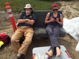 As things in the field slow down, Jack Ames and Erica Donnelly-Greenan take a much needed break.