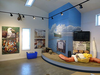 Wetlands & Wildlife Center interpretive center.  Photo credit: Huntington Beach Wetlands Conservancy