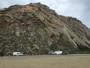 Sprinter and MASH at Morro Rock Feb 2016