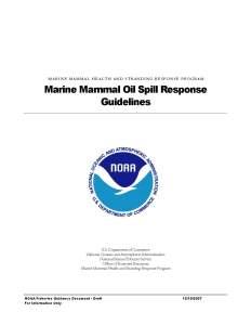 NOAA National Guidelines