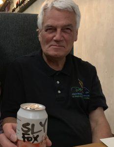 Curt Enjoying a Namesake Beverage